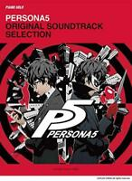 Piano Solo Sheet Music Book PERSONA5 Original Soundtrack Selection from Japan*