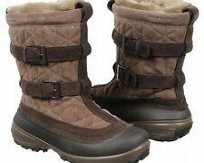 Columbia Women Flurry Omni-Heat Snow Boot Brown 7