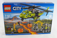 Lego® City 60123 Vulkan-Versorgungshelikopter Neuware / New / Sealed