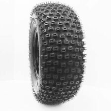 (2) 25X10-12 DIMPLE KNOBBY ATV Tires 6Ply HEAVY DUTY pair of ATV TIRES