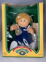 Vintage 1985 Cabbage Patch Kids Doll. Blond Hair Green Eyes. Christabella Ruby