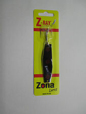 Z-Ray 5/8 oz Black with Red Spots Fishing Lure