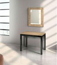 Specchio moderna in legno prima patina