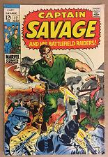 Captain Savage And His Battlefield Raiders #12 (1969)
