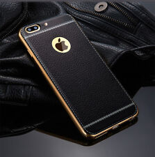 For iPhone XS 8 6 7 SE Plus Luxury Ultra-thin PU Leather Soft Phone Case Cover