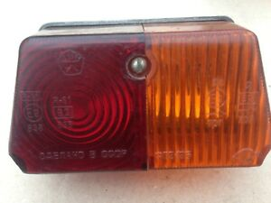Rear lamp  for sidecar motorcycle URAL(650cc), DNEPR, MB650.