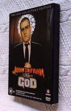 JOHN SAFRAN VS GOD (DVD, 2-DISC COLLECTOR'S EDITION, BOX SET) R - 4, VERY GOOD