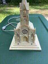 Vintage Raylite Electric Corp Church Light w/ Music Box