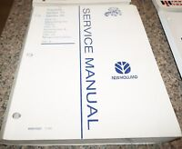 1995 New Holland Series 10 & 30 Tractors Service Manual - Volume 6