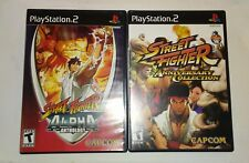 PS2 - Street Fighter Anniversary Collection & Street Fighter Alpha Anthology