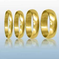 Yellow Gold Shaped Precious Metal Rings without Stones