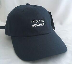 The Hundreds Endless Bummer Adjustable Baseball Cap Dark Blue