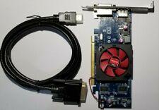 Dell AMD HD 7470 1GB DVI DisplayPort VGA HDMI Adapter Windows 10 Video Card