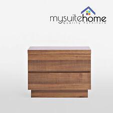 Florence Solid Timber/Blackwood Veneer Bedside Table Nightstand Cabinet