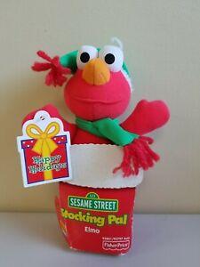 Vintage 2000 Fisher Price Elmo Sesame Street Stocking Pal Stuffer Christmas