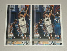 Lot of 2 - 1997-98 Topps Rookie Card #115 Tim Duncan RC