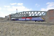 PHOTO  HST BATTLEDOWN FLYOVER COMING OFF SALISBURY LINE  29TH MARCH 2013