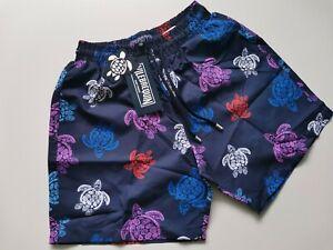 Mens Vilebrequin swim shorts turtle shorts size M