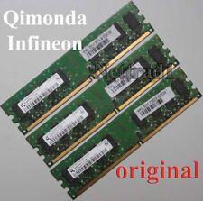 6GB 3X 2GB DDR2 Arbeitsspeicher PC 6400 Low Density alle Mainboards INTEL + AMD