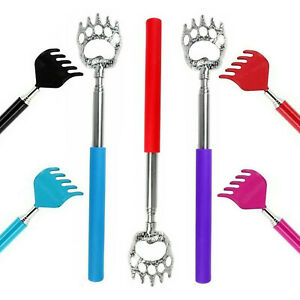Adjustable 42 / 51cm Extending Back Scratcher Rake / Claw Telescopic Portable