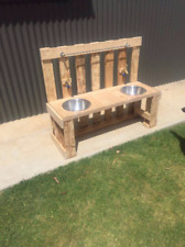 Mud Kitchen With Dual Sinks And Taps