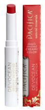 Pacifica Creamy Colour Devocean Natural Mineral LIPSTICK Scarlet Red 2g FIREBIRD