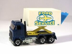 HOT WHEELS Made in FRANCE Airport Food Service Truck BW VHTF