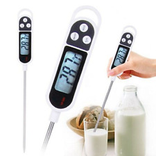 Digital Food Meat Thermometer Grill BBQ Kitchen Cooking Water Measure Probe Tool