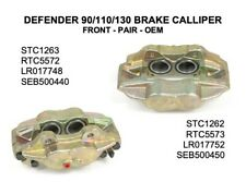 Land Rover Defender Pair Front Brake Calipers - RTC5572/73 - STC 1262/63 - OEM