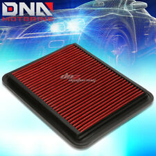 FOR 07-10 G6/DTS/LUCERNE RED REPLACEMENT RACING HI-FLOW DROP IN AIR FILTER