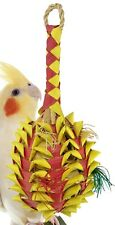 03365 Medium Pineapple Bird Toy Cage Toys Cages Foraging Chew Shredder Conure