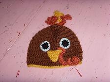 Vguc Little Me 0-6 mo baby boy or girl unisex Thanksgiving Turkey hat cap infant