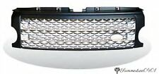 Land Rover L319 LR3 05-09 Discovery 3 Honeycomb Mesh Front Grille Black & Silver
