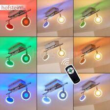 Plafonnier LED Lampe à suspension Lustre Changeur de couleur Éclairage de salon