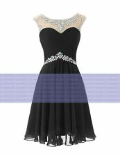 Short Formal Ball Gown Cocktail Evening Prom Party Dress Bridesmaid Dresses 6-18