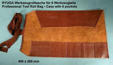 RYUGA Bonsai Werkzeug Roll Tasche Roll Bag Kunstleder 26x40cm TOP-Modell #G1