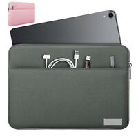 """9-11""""Sleeve Case Bag Polyester Tablet Pouch Cover for iPad Pro 11,iPad 9.7 6th"""