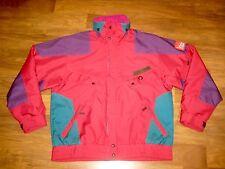 Vtg 80s 90s NEVICA Dark Red Marker Mens size 40 Snowboard SKI Jacket Coat MEDIUM