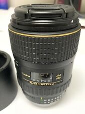 Tokina 100mm F2.8 Macro AT-X Pro D LENS for Nikon