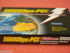 WS-5614PSL Wisecom 56K Motorola v.90 PCI Fax Modem, NIB