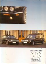 Daimler V8 Hearse and Limousines X308 series UK market sales brochure