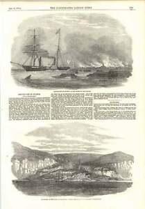 1854 Destruction Of Sulineh Danube Mouth Baltschik