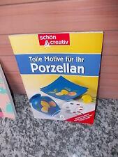 Tolle Motive für Ihr Porzellan, ein schön & creativ Heft aus dem Moewig Verlag