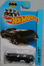 2014 HOT WHEELS The Batman Batmobile Col. #61/250  HW CITY Series HTF