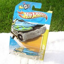 HOT WHEELS: 2012 MAD SPLASH Blue with GOLD ENGINE Version CLEAR RIMS New!