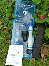 WATERSTRAW  PURIFIED WATER FILTER  700 litre SURVIVAL