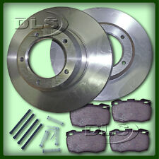 LAND ROVER DEFENDER 110/130`94 on  VENTED FRONT BRAKE DISC AND PAD SET