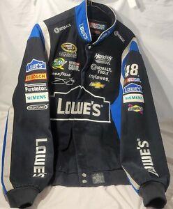 Jimmie Johnson JH Design Lowe's Cotton Jacket XL NASCAR