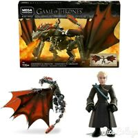 MEGA CONSTRUX Game Of Thrones Daenerys And Drogon Set New In Stock!!!