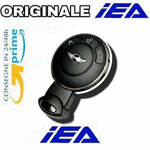 🇮🇹Guscio telecomando cover chiave ORIGINALE IEA PER MINI COOPER 3 tasti..